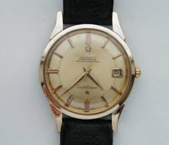 darlor vintage omega watches omega 14 karat capped on stainless steel constellation well serviced 18karat solid gold buckle 1966