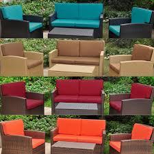 International Caravan Lisbon Corded Replacement Cushions Set of 8