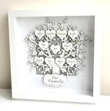 family tree frames personalised gifts box frame keepsake family tree picture frames family tree photo frames australia family tree photo frames free