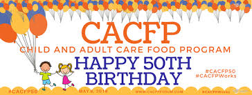 program for 50th birthday celebration happy birthday cacfp national cacfp forum
