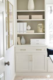 office makeover. Neutralwhiteandgoldhomeofficemakeoverwith Office Makeover