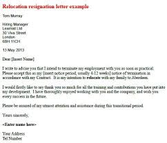 Resignation Letter Relocation Example Recent How Write A Forbes