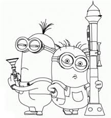 Small Picture 23 best Little Minions images on Pinterest Adult coloring