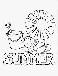 Small Picture Summer Coloring Page Color Free Of Season For Kids And All Ages