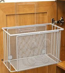 door basket organizer cabinet under sink storage kitchen under kitchen magnificent