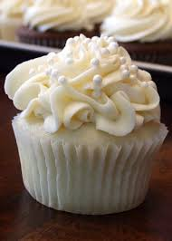 White Wedding Cake Cupcakes Recipe Cake Cupcakes Cupcake