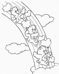Small Picture Care Bears Coloring Pages 10 Coloring Kids