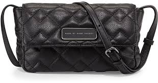 Marc by marc jacobs Julie Crosby Quilted Crossbody Bag in Black   Lyst &  Adamdwight.com