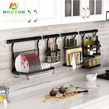 wall hanging kitchen shelf knife spice