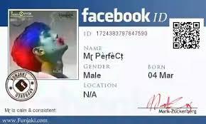 Facebook Facebook Id Trick-make Id Trick-make Card Trick-make Card