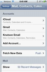How To Change The Iphone Activesync Password