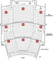 State Theatre Seating Chart New Jersey State Theatre Seating