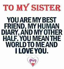 40 Best Sister Quotes To Describe Your Unbreakable Bond YourTango Awesome Sis Love My Com