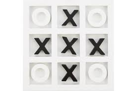 Wooden Noughts And Crosses Game