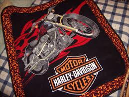 Gina'sCustomCreations: Harley Davidson - Blanket Makeover & Harley Davidson - Blanket Makeover Adamdwight.com