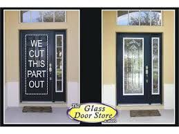 glass inserts front doors door replacement for entry home depot