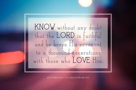 Image result for Deuteronomy 7:9