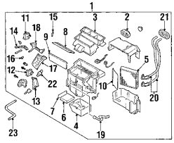 Browse a sub category to buy parts from mopardirectparts description genuine nissan evaporator nis 272808j000 nissan quest wiring diagram