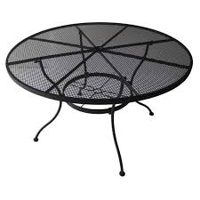 patio tables at com wrought iron coffee table 6432316