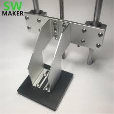 swmaker sla dlp 3d printer z axis build platform kit for diy uv resion dlp