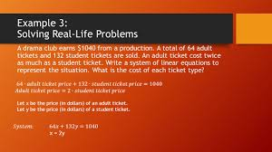 7 example 3 solving real life problems