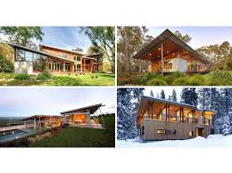 slanted roof house examples of modern houses with a sloped roof slanted roof small house plans