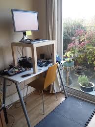 Posh Cheap Ikea Standing Desk Ikea Stand Up Bonus Diy Standing Attaching To  in Ikea Standing
