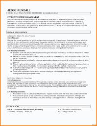 Store Manager Resume Retail Store Manager Resume Is Made For Those Professional 52