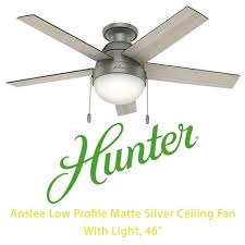 59270 anslee low profile matte silver ceiling fan with light 46 condtion new all parts sea indoor lighting fans city of toronto kijiji