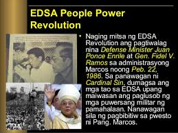 Image result for 1986 – People Power Revolution: