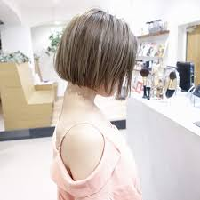 大人気のヘアスタイル切りっぱなし前下がりボブ Dishel清井慎二blog