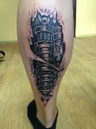 Tetování Tlumič Tetování Tattoo
