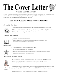 Whats A Cover Letter Resume Samples