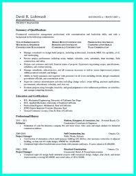 Construction Superintendent Resume Unique Resume Service Best