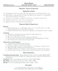 Resume Sample For Cook Best Of Line Cook Resume Examples Sample Cook Resume Line Cook Cover Letter