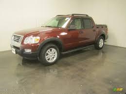 2010 Dark Copper Metallic Ford Explorer Sport Trac Xlt 4x4