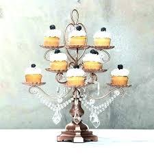 chandelier cupcake holders gold holder hostinggratis info