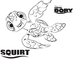Disney S Finding Dory Coloring Pages