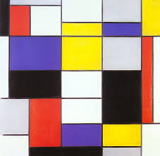 primary colors piet mondrian