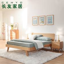 Japanese minimalist furniture Small Office Buy Changyou Bed Bedroom Furniture Minimalist Japanese Nordic Pure Solid Wood Bed Oak Bed 15 Double Bed 18 In Cheap Price On Malibabacom Qanvast Buy Changyou Bed Bedroom Furniture Minimalist Japanese Nordic Pure