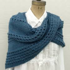 Knit Shawl Pattern Impressive Easy Shawl Knitting Patterns In The Loop Knitting