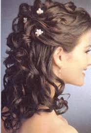 Curly Hair Style Up wedding hairstyle curly hair half up 40 stunning half up half down 5658 by wearticles.com