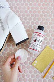 first you can use a leather deglazer and prepper to remove any glaze that may have been applied on top of your leather so your paint will stick better to