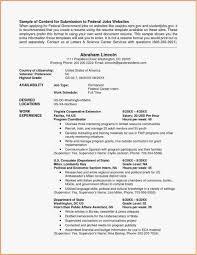 Finance Intern Resume Beautiful 21 Federal Resume Format