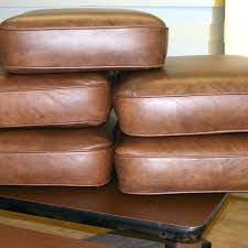 leather chair cushions and pads faux leather dining chair cushion seat pad