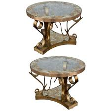 adesso eclectic imports pair of 50s side tables by arturo pani furniture side tables glass metal response content disposition=inline