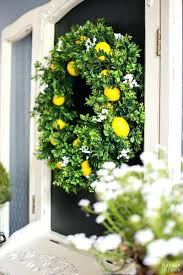 summer wreaths for front doorArticles with Spring Wreath Ideas For Front Door Tag Awesome