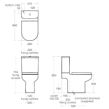 dimensions of toilet toilet size dimensions bathroom