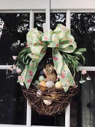 Easter Bunny Wreath, Easter Wreath, Easter Bunny, Spring Wreath, Easter  Decoration, Front Door Wreath, Bunny Wreath, Easter Grapevine Wreath