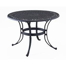 home styles furniture black 42 inch round outdoor dining table